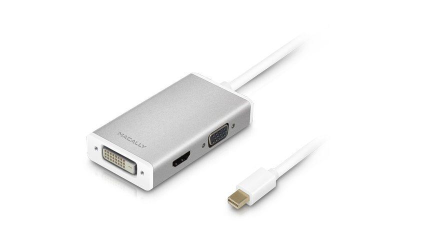 Mini displayport to HDMI/VGA/DVI 4K Adapter